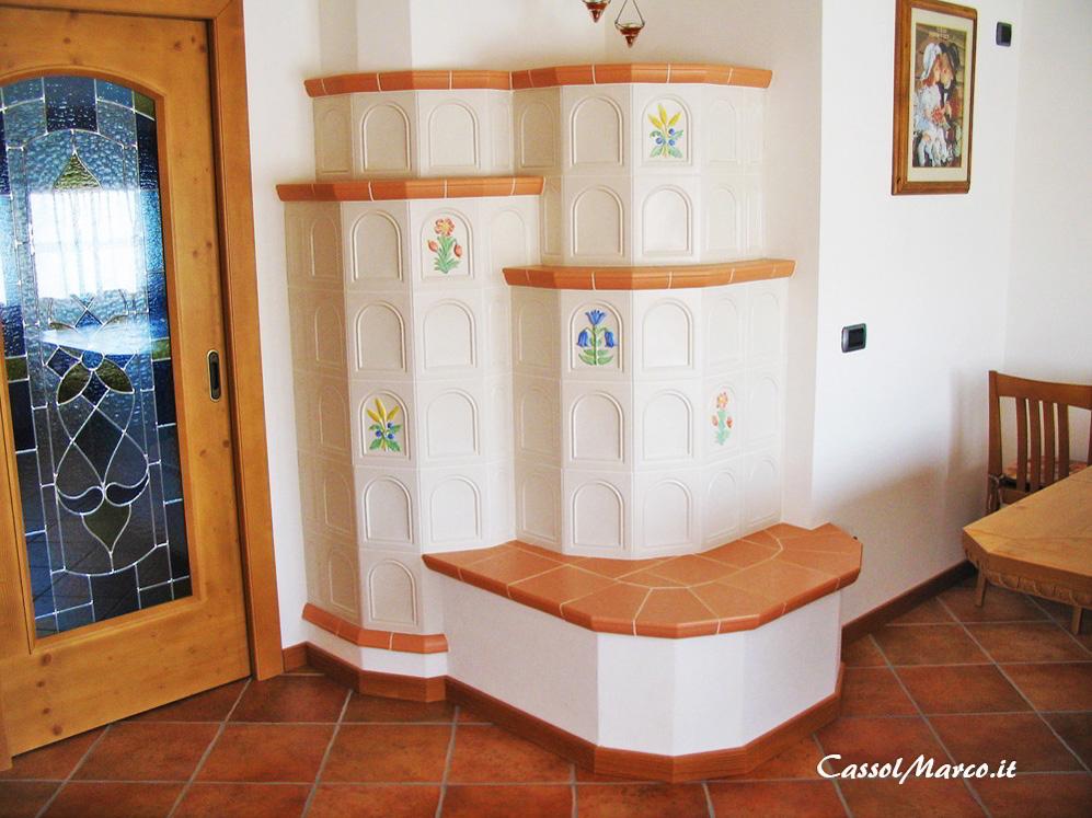 Stufe a legna ceramica