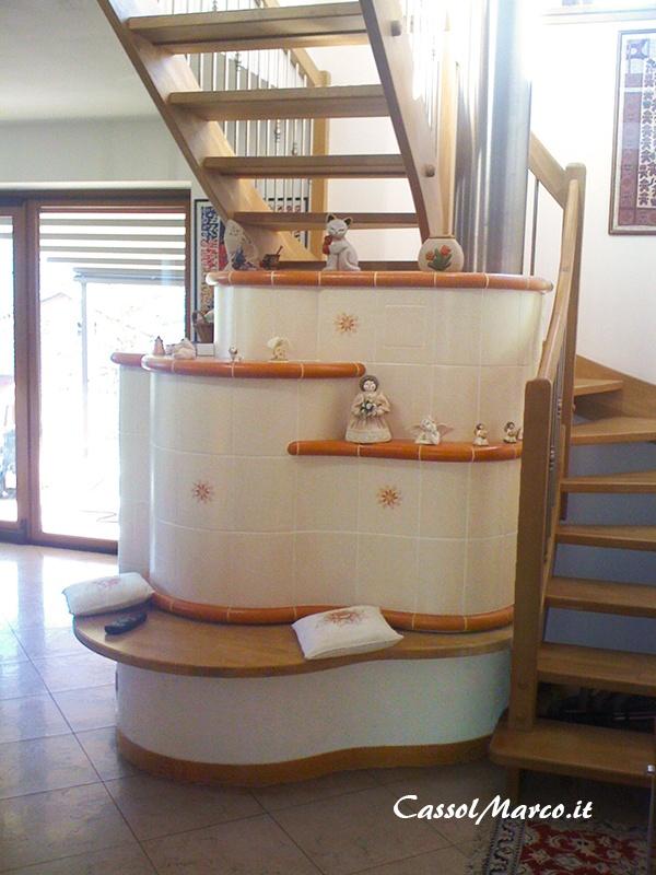 Stufa a legna su due piani per un caldo tepore in tutta for Piani di casa sotto 100k da costruire