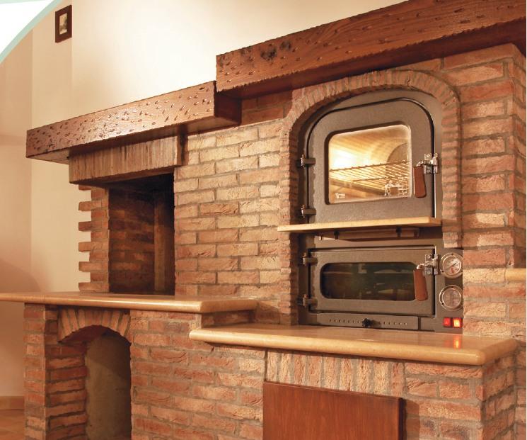 Forni tranquilli da giardino e da incasso - Cucinare con il forno a legna ...