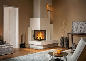 Stufe moderne in maiolica un mondo di calore e design - Stufe a legna moderne ...