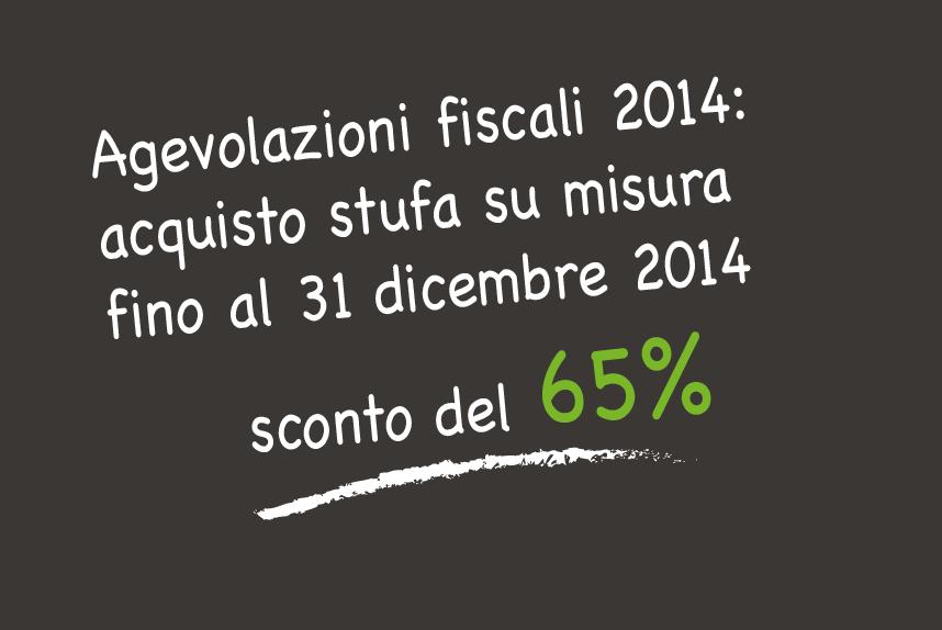 Le detrazioni fiscali 2014-2016 per acquisto stufa a legna