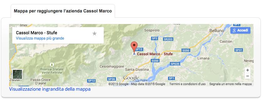 Cassol Marco Stufe - Visualizza la Mappa