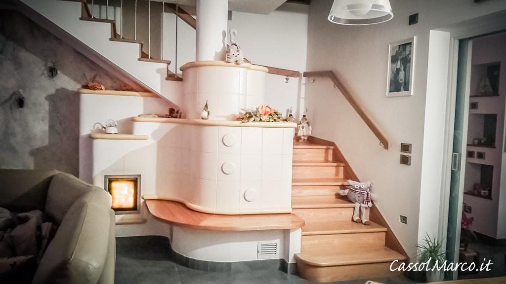 Calore dalle scale