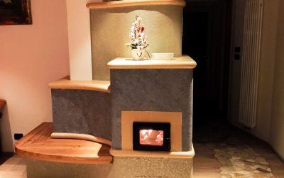 Stube Tirolese per riscaldare a legna la casa