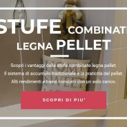 Stufe combinate legna pellet